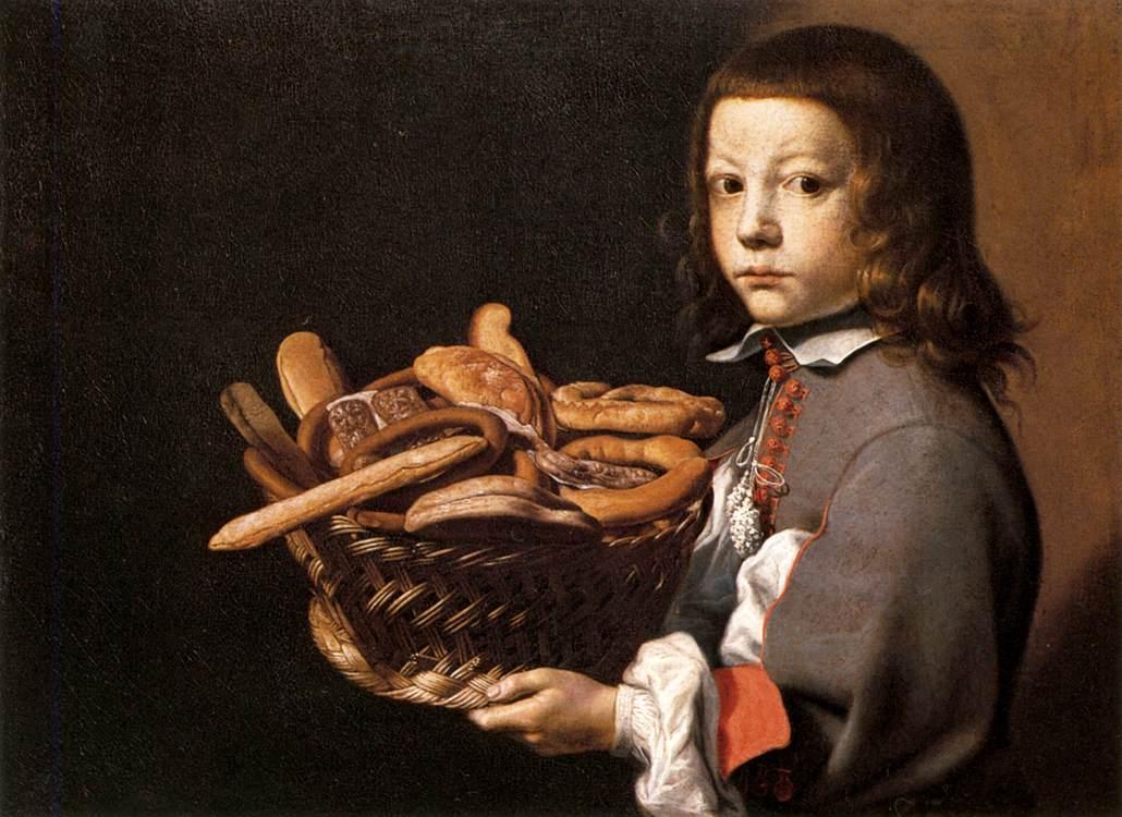 Evaristo_Baschenis_-_Boy_with_a_Basket_of_Bread_-_WGA1404