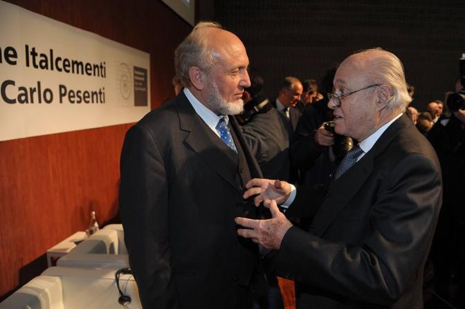 Bergamo Fondazione italcementi convegno annuale nella foto Giam