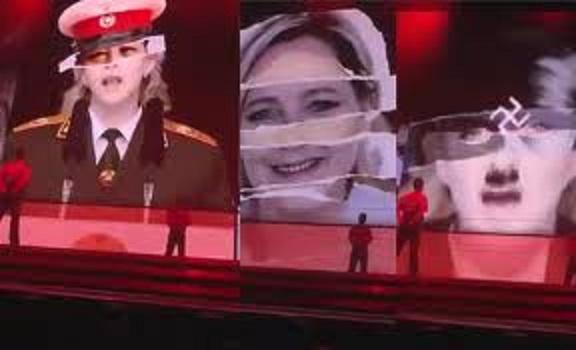 MadonnaMarineLePen