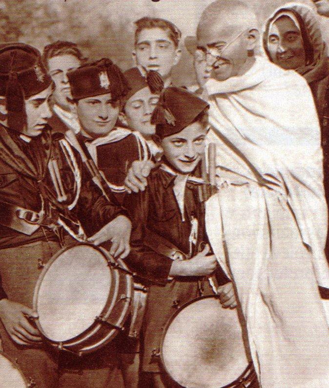 Gandhi_a_Roma