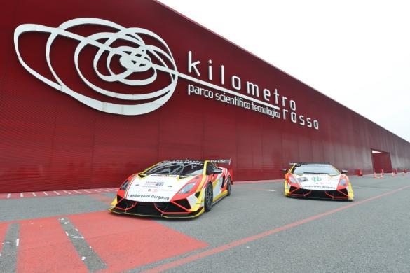 Lamborghini Gallardo Super Trofeo al Kilometro Rosso